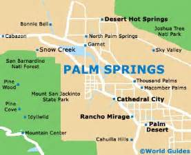 map of palm springs airport psp orientation and maps