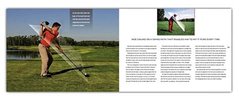 todd graves golf swing case study book design from vopni parsons combines