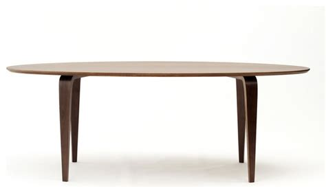 cherner chair oval dining table modern dining tables
