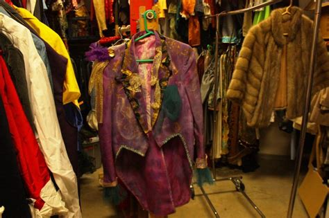 Costumes In Closet by The Trailblazer Costume Closet Holds Treasured Designs