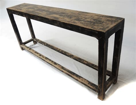 console or sofa tables slim sofa back console table with shelf