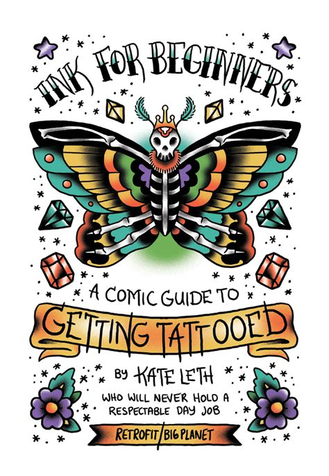tattoo flash kate leth retrofit comics store ink for beginners a comic guide