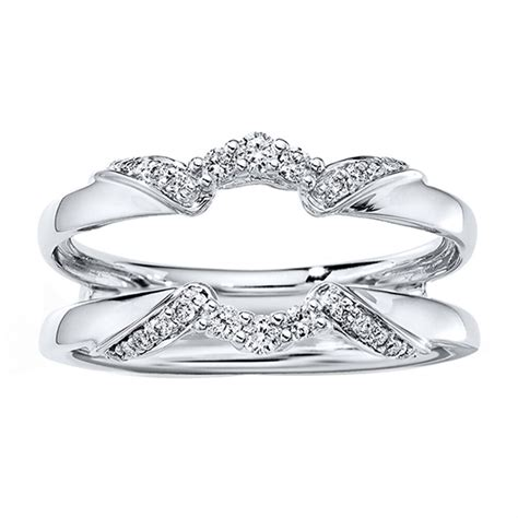 Engagement Ring Guard by Engagement Wedding Jacket Ring Guard Wrap Enhancer