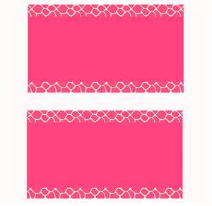 pink business card template pink giraffe business card templates by stacyo on deviantart