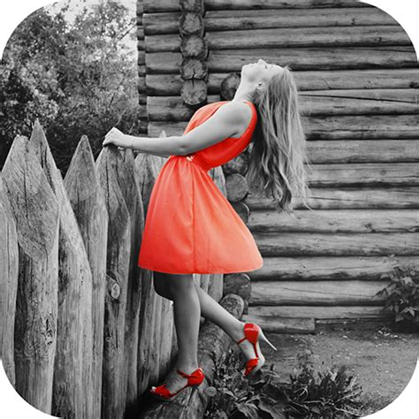 photo editor black and white with color color splash effect black and white photo