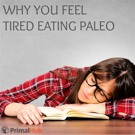 Why Mercury Detox Cause Tiredness by Why You Feel Tired Paleo Primal Hub