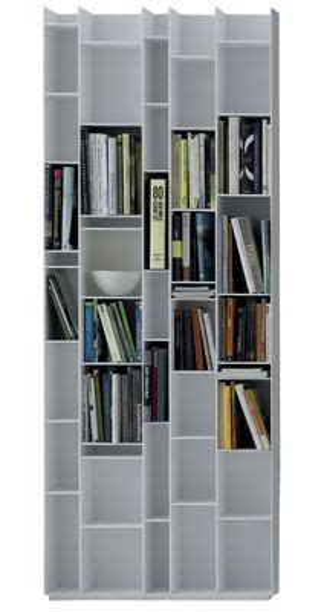 Mdf Italia Random Bookcase Biblioth 232 Que Random L 81 X H 217 Cm Blanc Mdf Italia