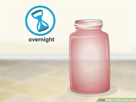 how to color jars 4 ways to paint glass jars wikihow