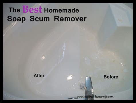 how to clean soap scum from bathtub 1000 ideas about linoleum cleaner on pinterest clean