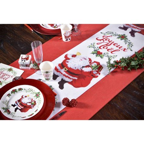 chemin de table p 232 re noel maplusbelledeco