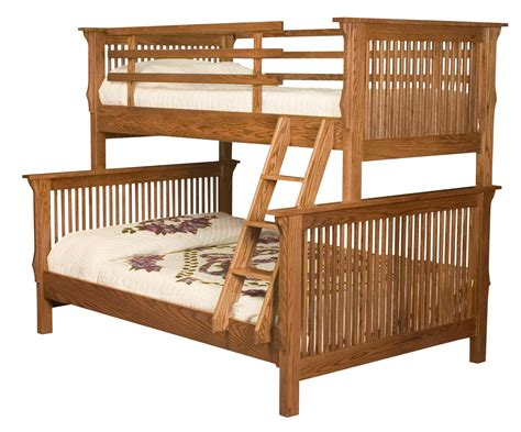 amish bunk beds amish mission bunk bed
