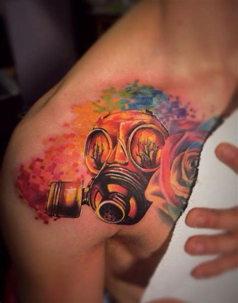 tattoo nightmares gas mask 41 best images about cool gas mask tattoo stencils on