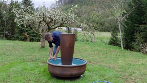 como hacer una fuente de jardin c 243 mo hacer una fuente macetero para el jard 237 n paso 1