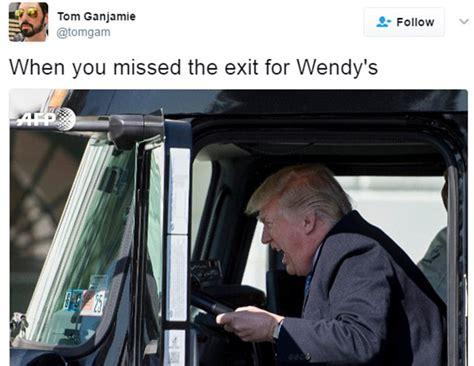 Truck Driver Meme - donald trump truck driving memes funny photos best