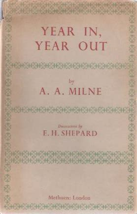 year in year out a a milne the captive reader
