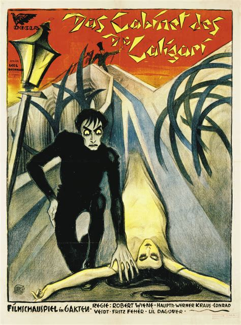 1919 the cabinet of dr caligari set design cinema