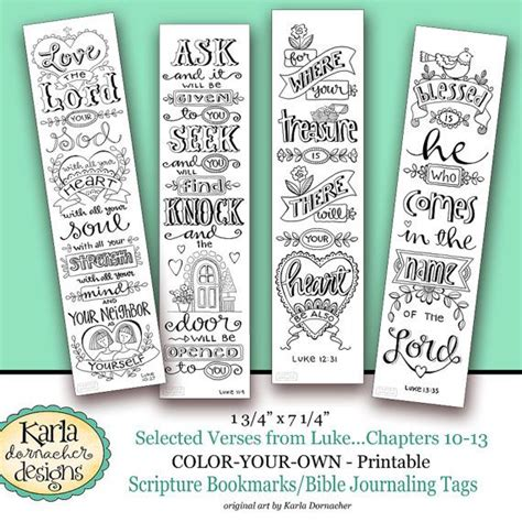 templates for bible bookmarks luke 10 13 color your own bookmarks bible journaling