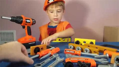 Real Power Tools 4 Mib power tool toys black and decker bob the builder real