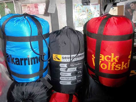 Tenda Anak Rimba anak rimba adventure jual sleeping bag sb