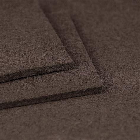filzauflage bank filz sitzauflagen quadratisch braun filzauflagen 30cm 32