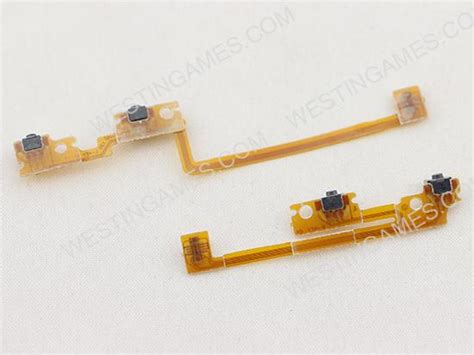 Switch Netral Zr replacement left right zl zr switch button flex cable for new 3ds new 3ds xl new 3ds repair