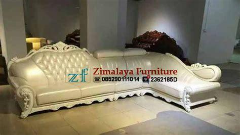 Sofa Warna Putih sofa tamu sudut warna putih zimalaya furniture