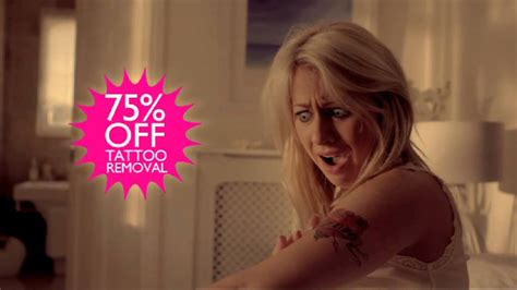 tattoo removal tv show wowcher tv commercial 2013 removal