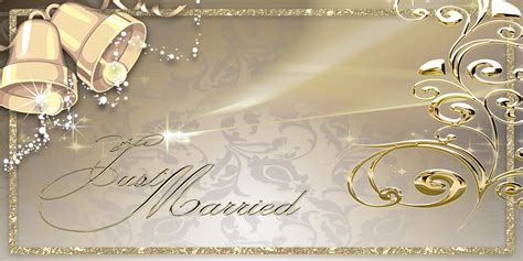 Wedding Bells Banner by Wedding Banners Bells Gold
