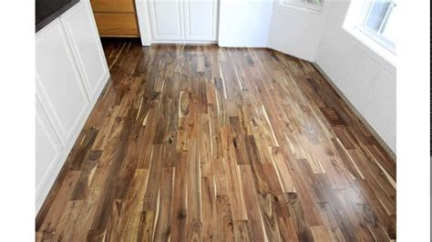 acacia hardwood flooring youtube