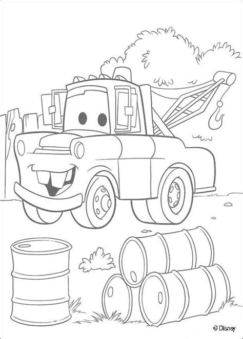 coloring pages mater cars mater chevrolet truck coloring pages hellokids com