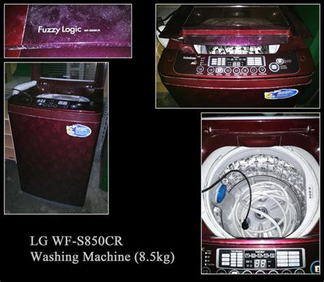Mesin Cuci Lg Wf S850cr 벼룩시장 gt 완료 lg 전자동 세탁기 8 5kg