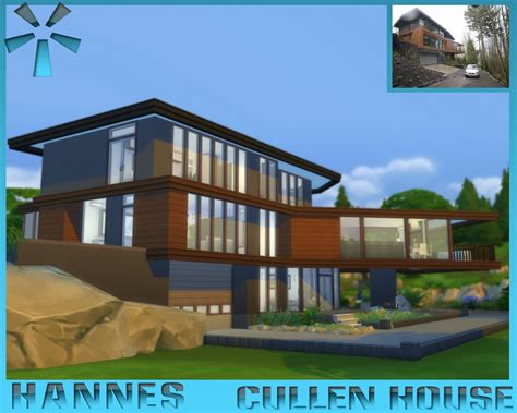 cullen house mod the sims cullen house
