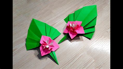 Decoration Origami by Easy Paper Flower Ideas For Decor Origami M