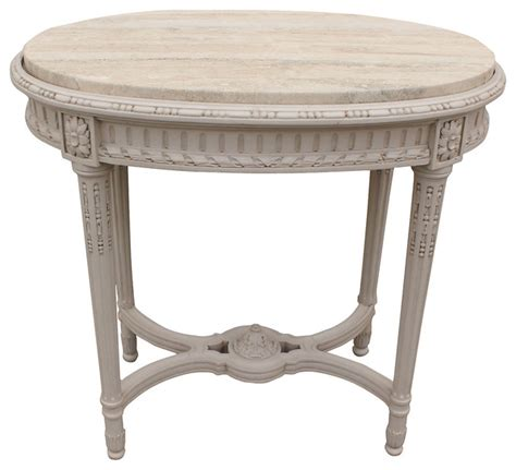 painted accent table 1920s french painted accent table contemporary side
