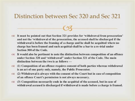 section 320 crpc section 321 cr pc withdrawal of prosecution