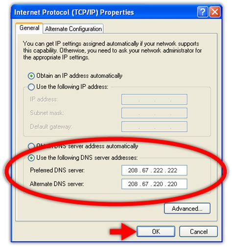 Dns by Change Your Dns Settings Windows Xp How To