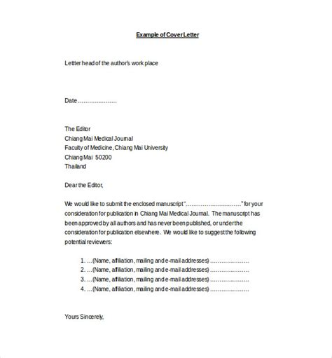 perfect covering letter format for document submission 58