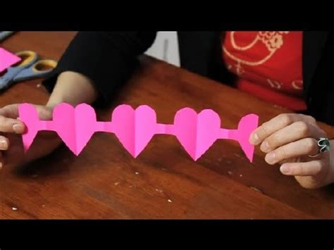 How Do You Make A Paper Doll Chain - tutorial for a paper chain s day crafts