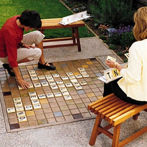 diy backyard scrabble 35 ridiculously fun diy backyard games that are borderline