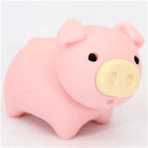 imagenes de gomas kawaii cute piggy japanese eraser from iwako animal eraser
