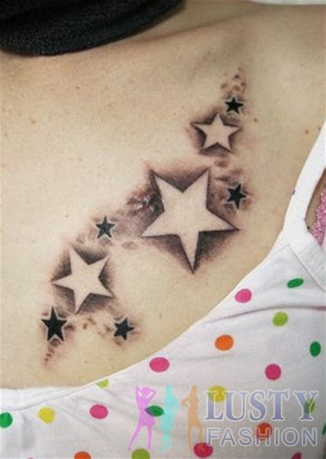 fallen star tattoo falling designs lustyfashion