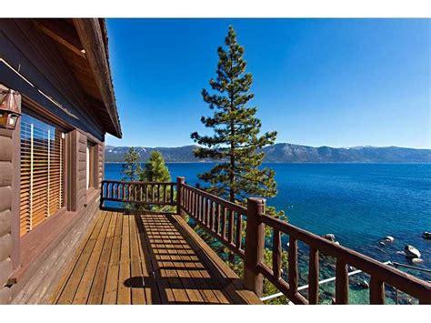 zillow lake tahoe house of the week howard hughes former lake tahoe estate