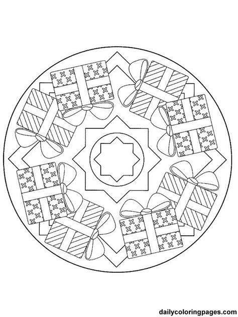 coloring pages christmas detailed detailed christmas coloring pages mandala christmas