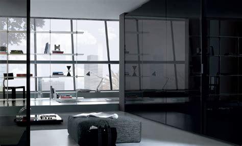 Black Sliding Door Wardrobe by Wardrobe Furniture From Misuraemme