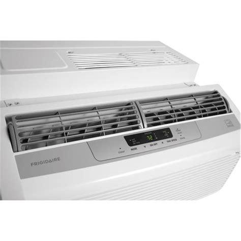 frigidaire ffrl0633q1 6 000 btu window mounted low profile air conditioner in white