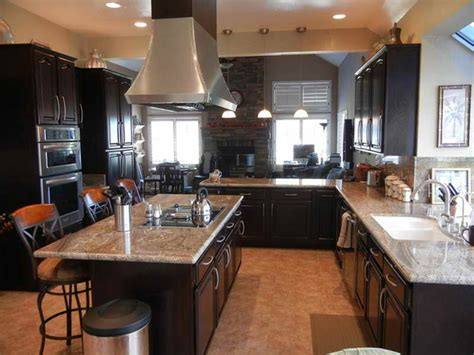 Single Story Open Concept Floor Plans by Home Remodeling Small Traditional Kitchen Remodel Before