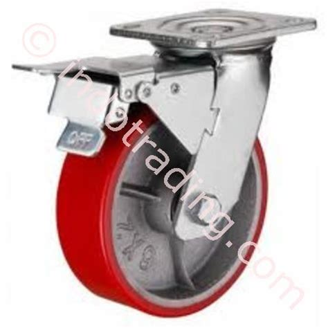 jual roda troly 4 quot jual roda trolley rhj tw 50 200kg murah jakarta p80136