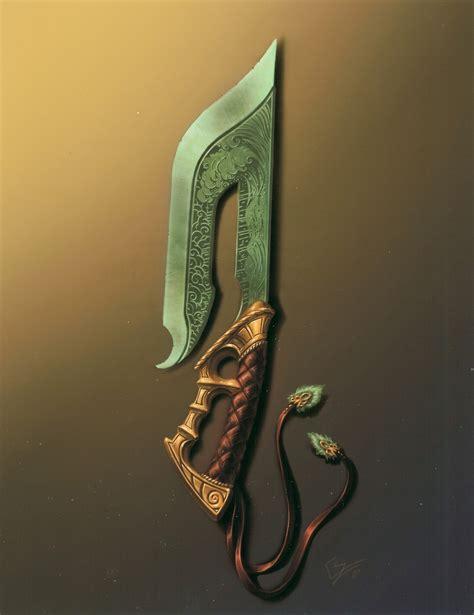 wallpaper craft knife blade guild wars artwork knives daggers wallpapers