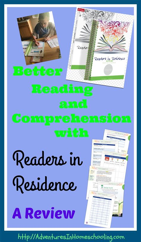 Reading Comprehension Review Of Related Literature by Better Reading And Comprehension With Readers In Residence A Review