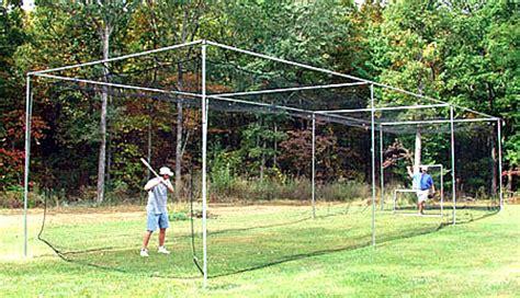 Backyard Baseball Backstop Baseball Backstops Batting Cages